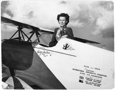 Skelton in her Pitts Special S-1C, Little Stinker. NASM #95-8289.